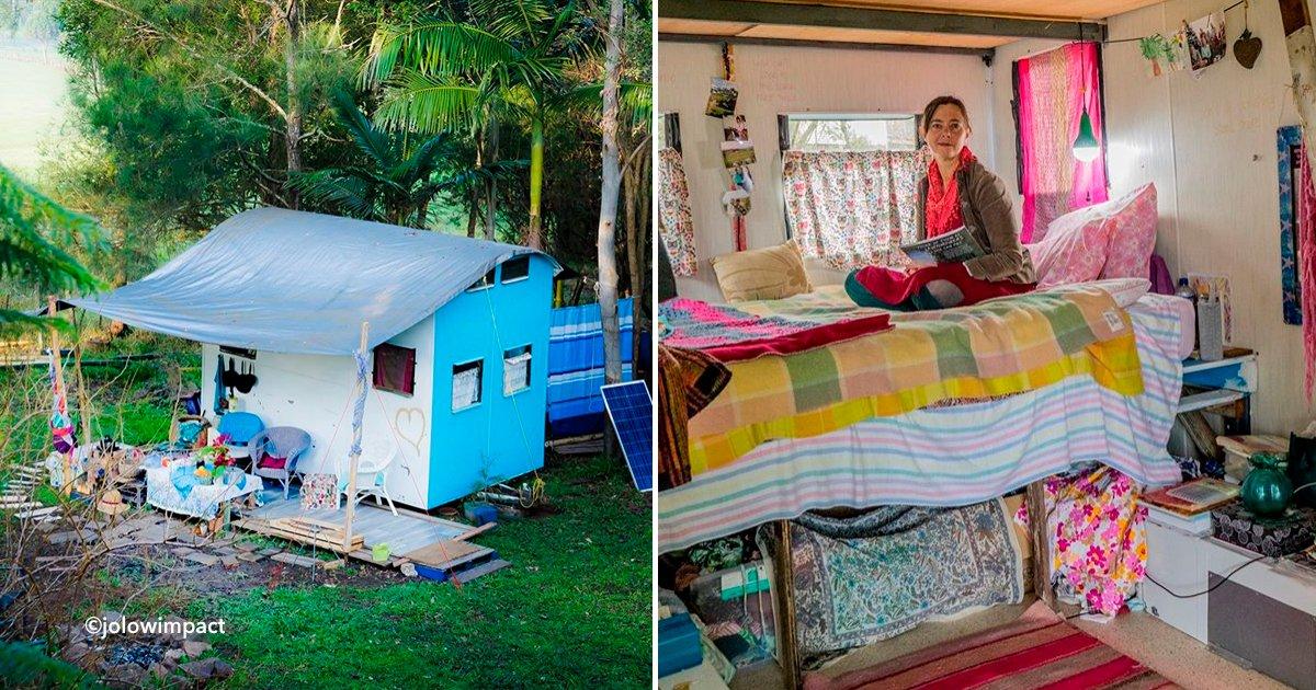 cvoert5 - Una mujer australiana decide vivir de lo que ella misma cultiva y produce y su vida cambió completamente