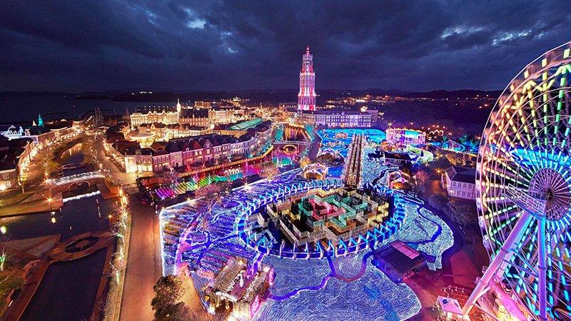ハウステンボス 冬の光の王国メイン2015冬