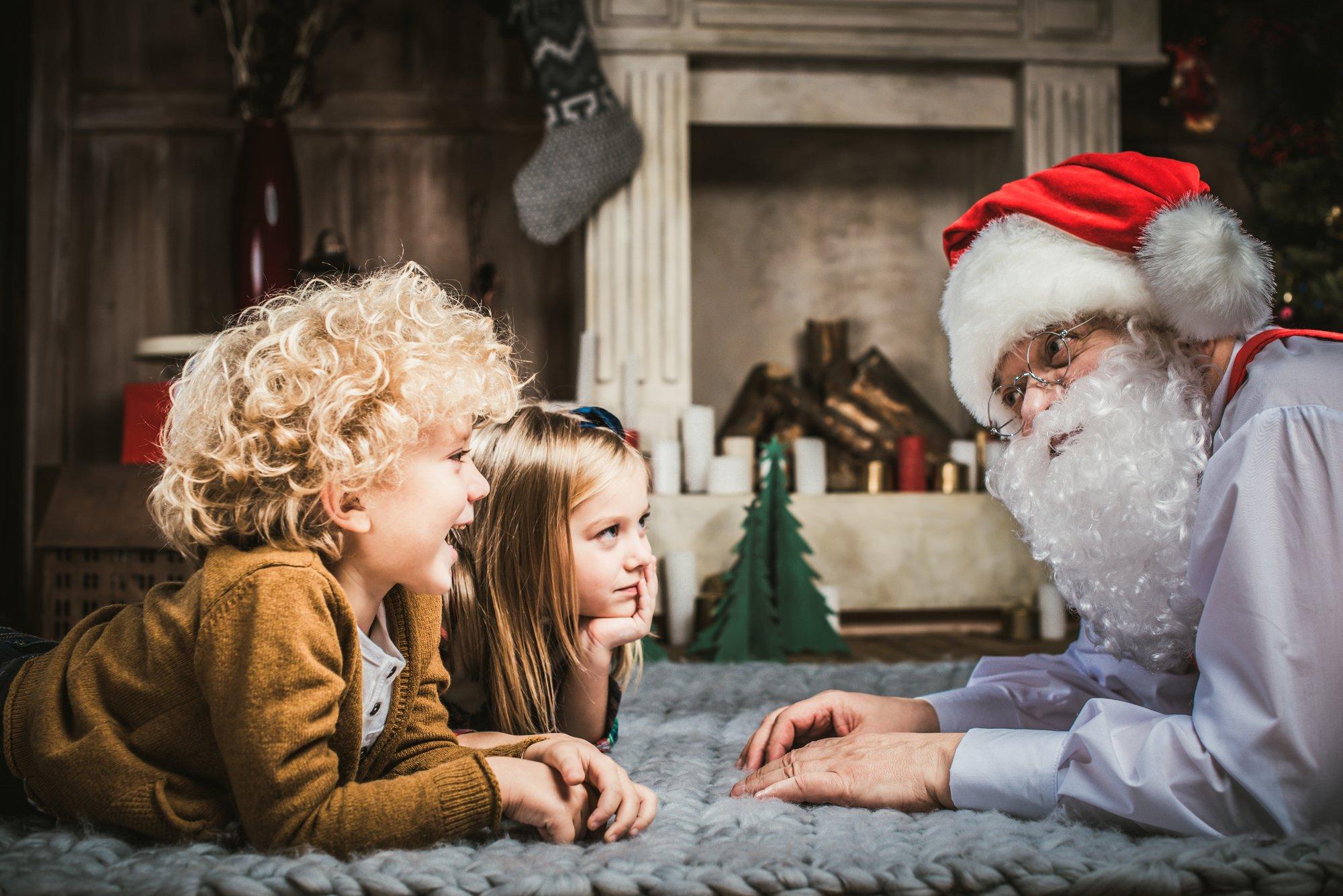 depositphotos 131272830 l 2015 - Comment parler du Père Noël à un enfant suspicieux? Cette maman a sa solution!