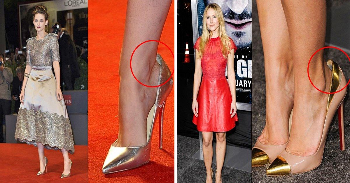 ec8db8eb84ac1 3.jpg?resize=636,358 - Descubra a razão pela qual o sapato das celebridades no tapete vermelho sempre é um número maior!