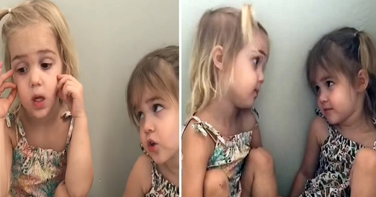 ec8db8eb84ac1 6 - Two-Year-Old Twins Try To Decide On A Career. Their Has Hilarious Response Internet In Laughter
