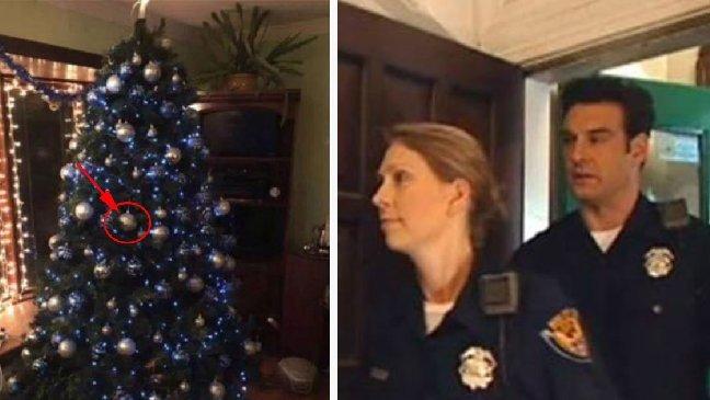 ec8db8eb84ac10 1.jpg?resize=1200,630 - Pour Noël, une femme rend hommage aux policiers morts en service