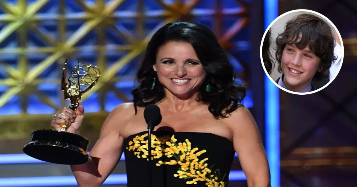 ec8db8eb84ac13 1.jpg?resize=300,169 - Julia Louis-Dreyfus Receives Special Video Present from Sons on Last Day of Chemotherapy
