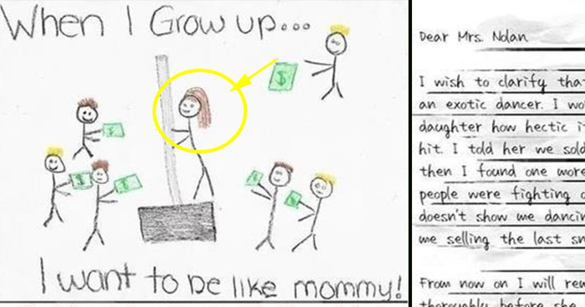 ec8db8eb84ac3 10.jpg?resize=636,358 - 10 Kid's Drawings That Their Moms Won't be Hanging on the Fridge