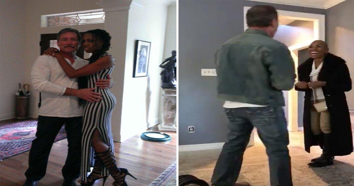 ec8db8eb84ac3 14.jpg?resize=1200,630 - [Vidéo] Elle se rase la tête et surprend son mari avec son nouveau look!