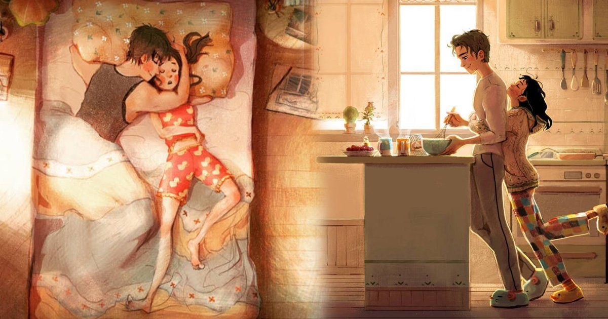 ec8db8eb84ac3 2.jpg?resize=300,169 - True Love Is In The Small Things, Touching Illustrations To Prove That