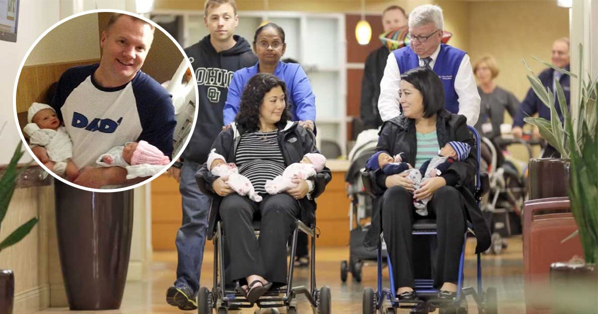 ec8db8eb84ac4 5.jpg?resize=412,232 - Sisters Delivered Twins On The Same Day, Then Family Discovered One Of Them Offered To Become A Surrogate