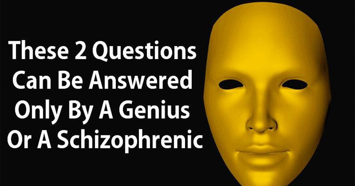 ec8db8eb84ac5 3 - Two Questions That Can Be Answered Only By A Genius Or A Schizophrenic