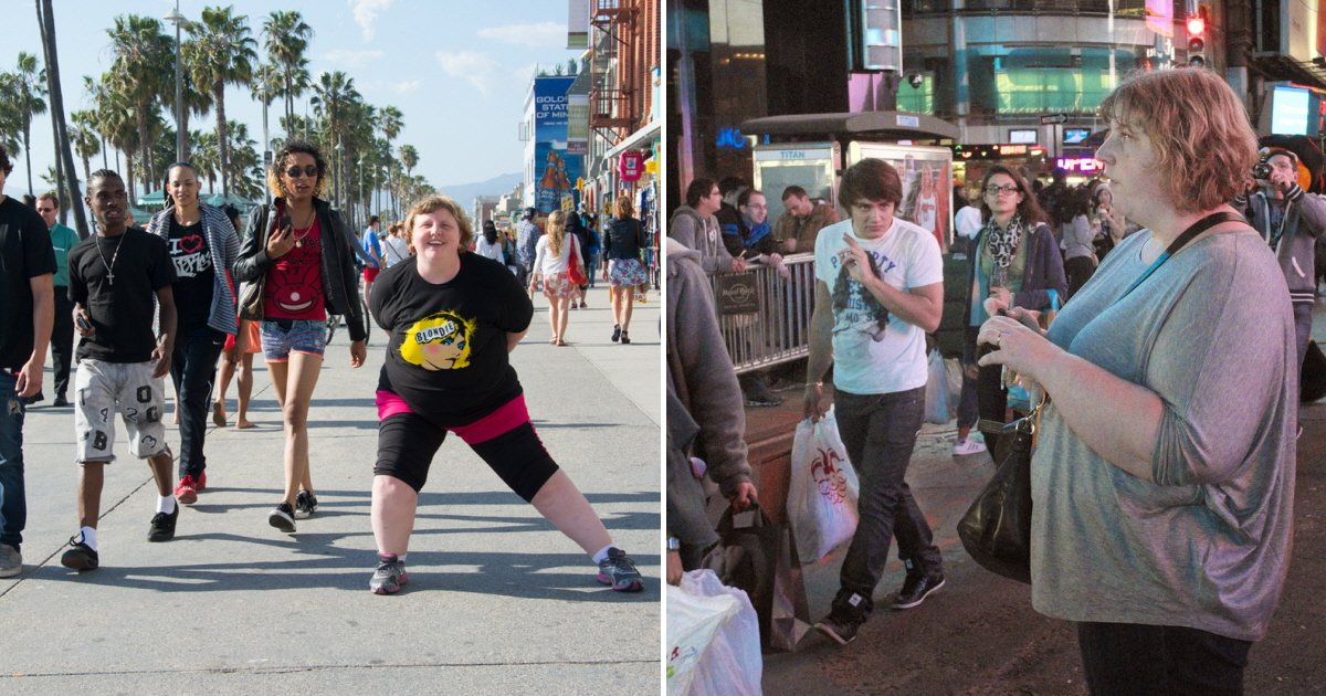 eca09cebaaa9 ec9786ec9d8c 47 - '뚱뚱한 여성'에 대한 사람들의 시선을 카메라에 담다 (사진 10장)