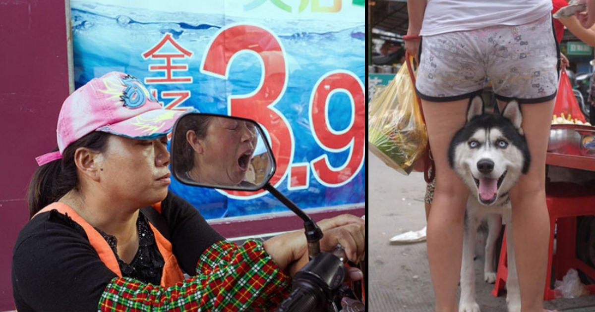 f 3 - 유명 거리 사진가 못지않은 한 '수도 계량기 검침원'이 찍은 거리 사진들(+24)