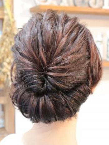 fashionable hair gibson tack 889f158785d14887aa47d3b4473679ff984e18e1 - ミディアムヘアでお洒落を!ギブソンタックとは