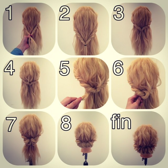 fashionable hair gibson tack are9 - ミディアムヘアでお洒落を!ギブソンタックとは