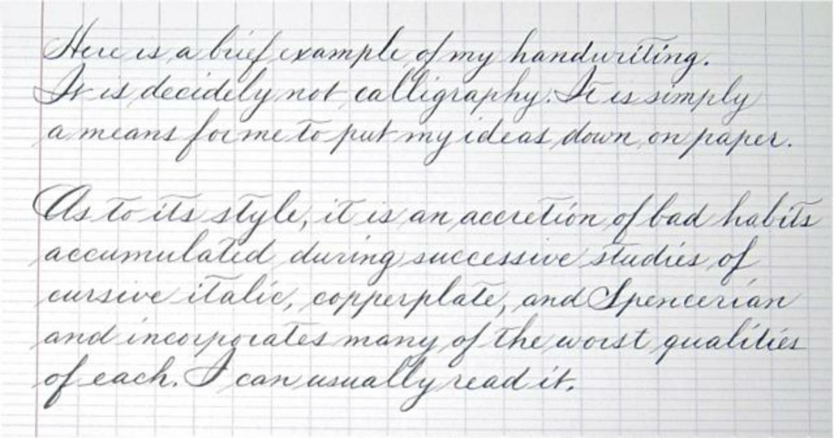 10 Handwriting Examples That Will Give You Happiness