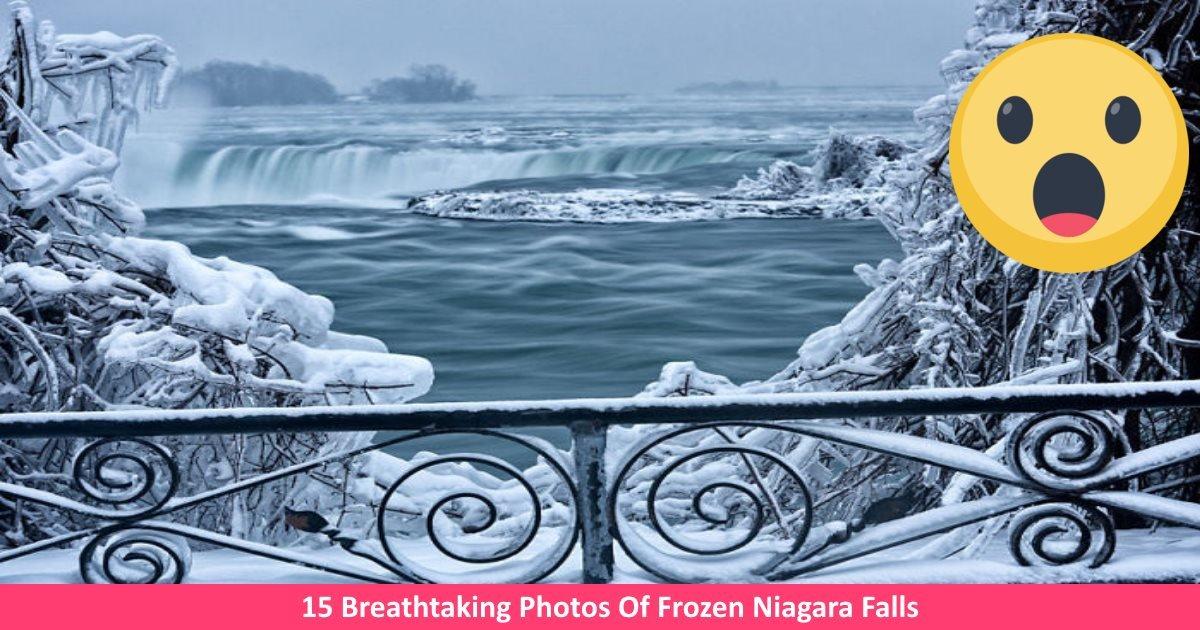 frozenniagara - 15 Breathtaking Photos Of Frozen Niagara Falls
