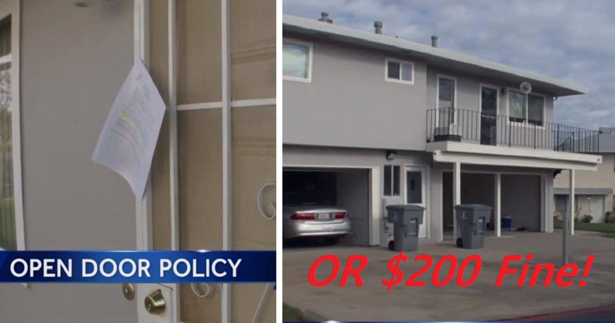 garage1 1.png?resize=1200,630 - Un village par une nouvelle loi : garder son garage ouvert ou payer une amende de 200 $