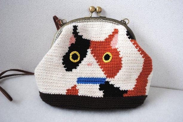 編み物 猫 ポーチ에 대한 이미지 검색결과