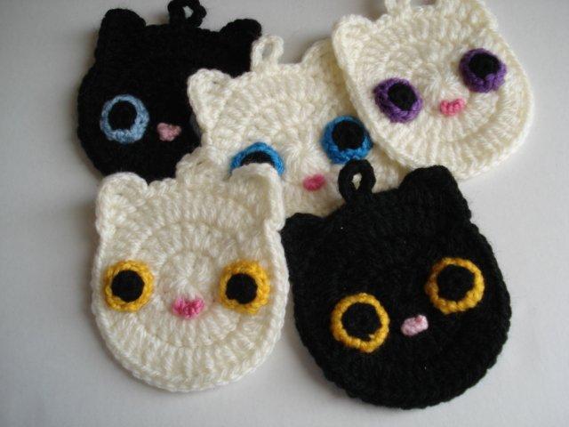 編み物 猫 エコたわし에 대한 이미지 검색결과