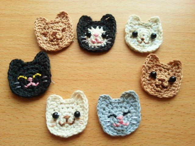 編み物 猫のモチーフ에 대한 이미지 검색결과