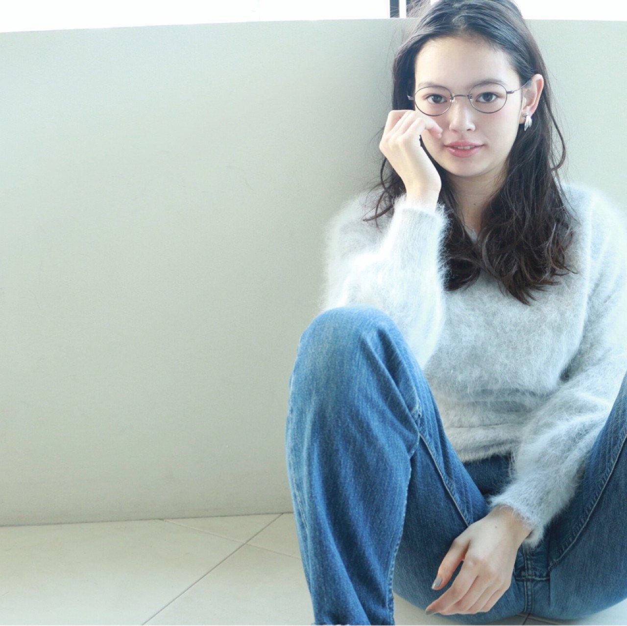 メガネ女子,髪型에 대한 이미지 검색결과