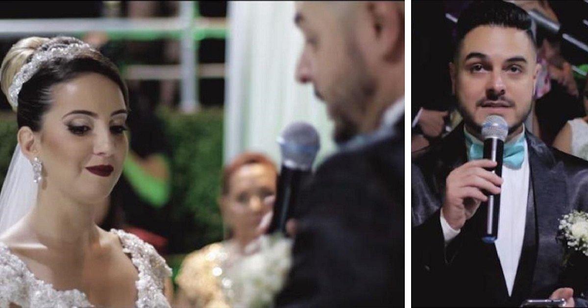 groom1 1.jpg?resize=648,365 - El día de su boda, el novio confiesa que aunque ama a la novia, su corazón también pertenece a otra mujer