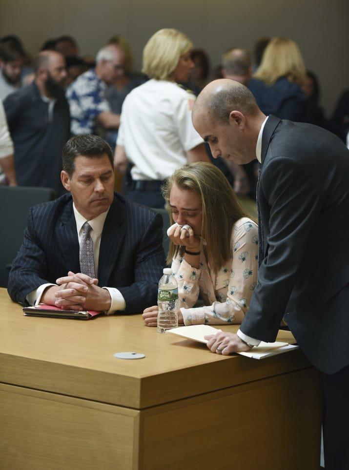 guilty04.jpg?resize=1200,630 - L'adolescente qui a poussé son petit-ami au suicide via SMS a été jugée coupable d'homicide involontaire