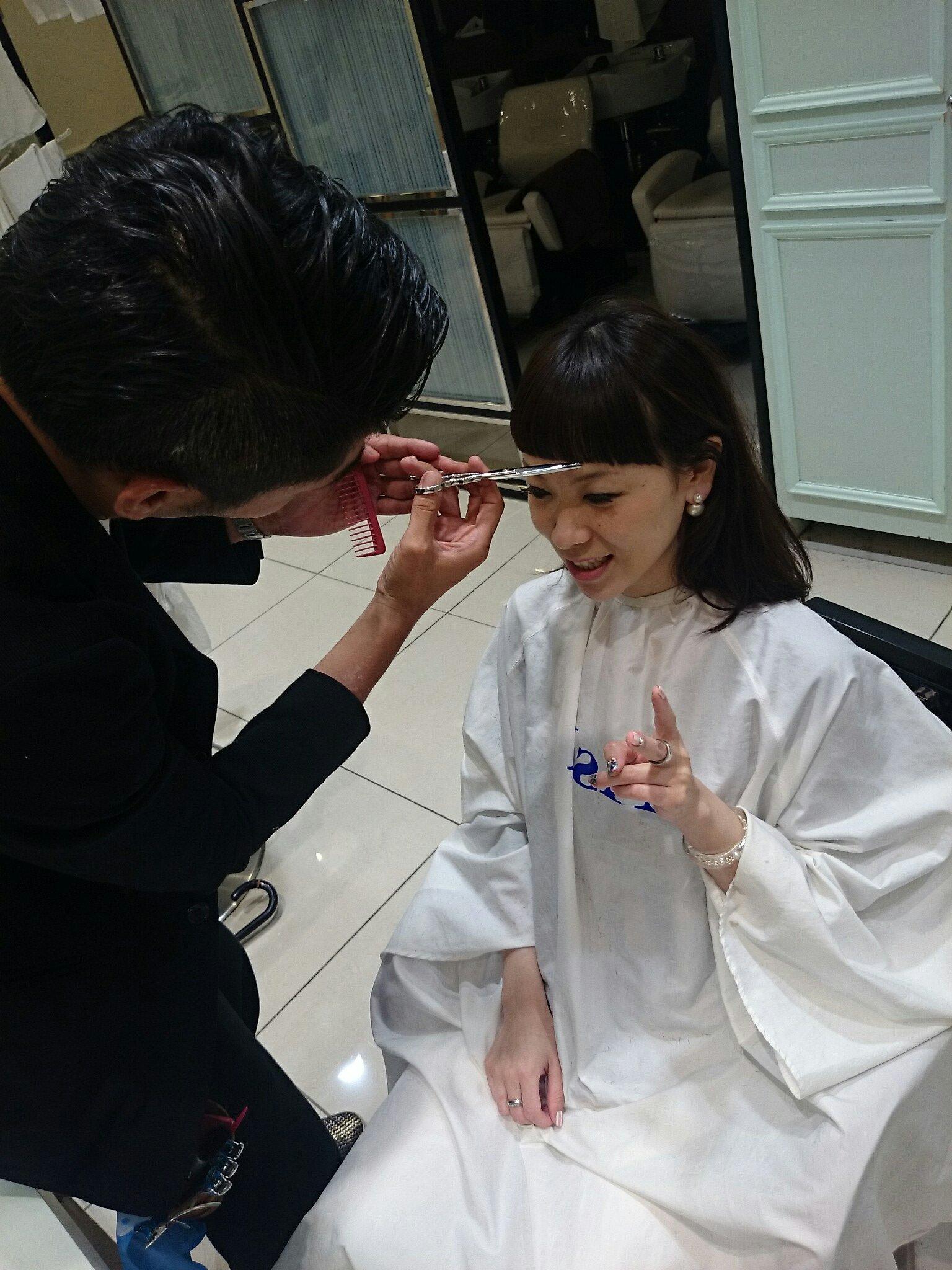 前髪 切る 美容院에 대한 이미지 검색결과