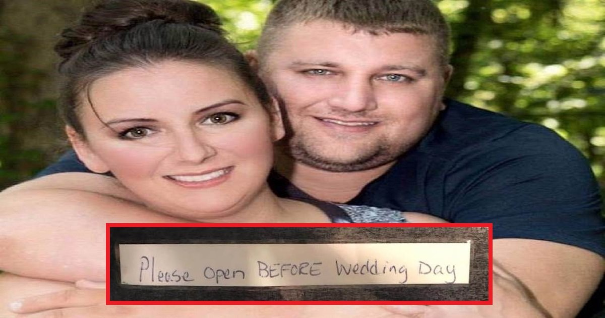 hall 1 - Couple Receives Mystery Box From Stranger Weeks Before Their Wedding, Bride Gets Goosebumps All Over
