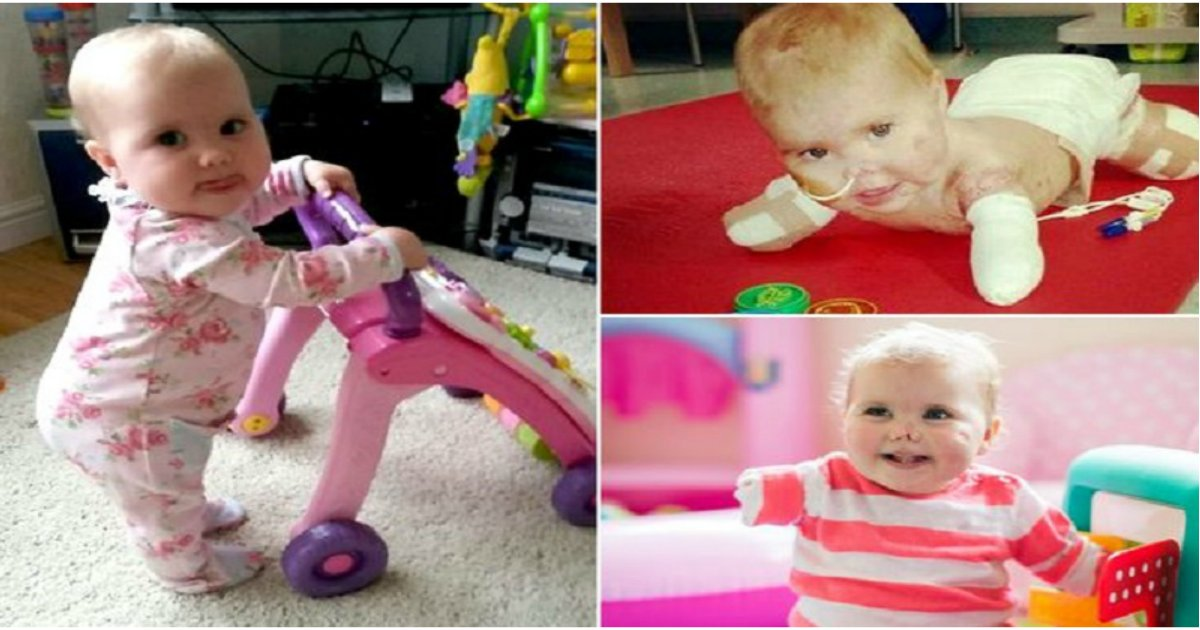 harm featured - Young Girl Loses All Her Limbs To Meningitis. Two Years Later, Proves She's a Survivor