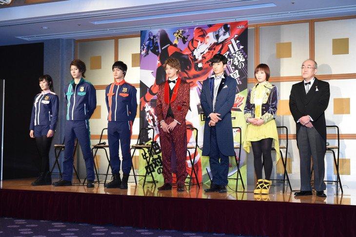 haruka kudo first hero drama 20180112 01 fixw 730 hq - 元モーニング娘、工藤遥が史上初のダブル戦隊ヒロイン?!「一生の宝物に」