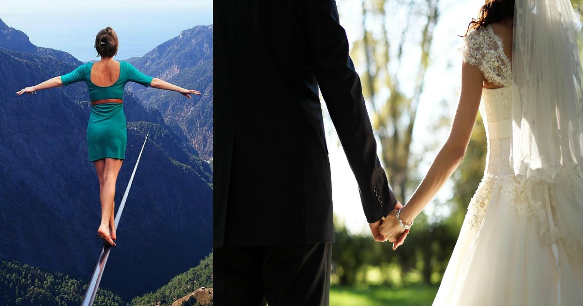 highwedding.jpg?resize=300,169 - Interesting Story Here.. Couple Gets Married At 400 Feet High