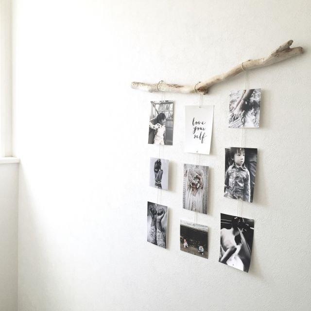 壁に写真を飾る 流木活用에 대한 이미지 검색결과