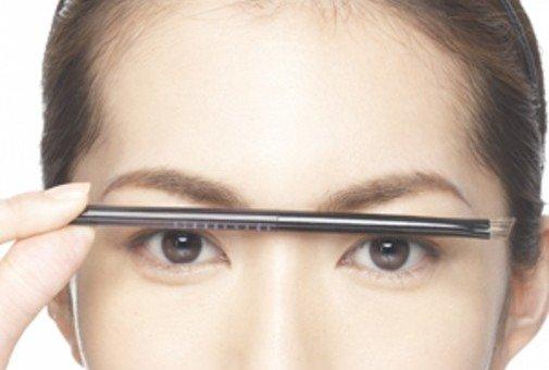 「理想的な眉の形」の画像検索結果
