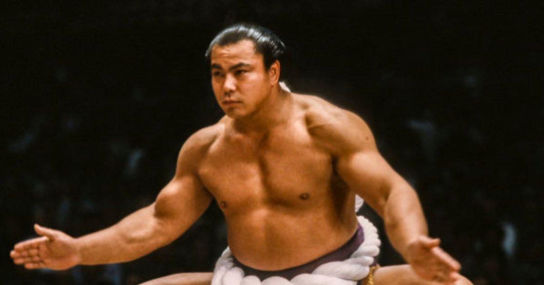 千代の富士の筋肉