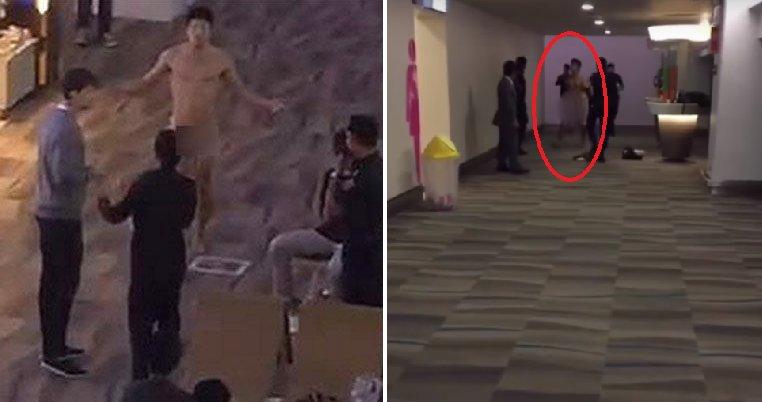 img 5a58246aa0fcb.png?resize=648,365 - タイの空港で裸で人々の顔にXを投げる男性
