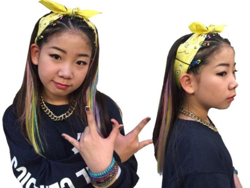 img 5a587552ae417 - キッズダンサーの髪型を特集!簡単アレンジ術5選【ヒップホップ編】