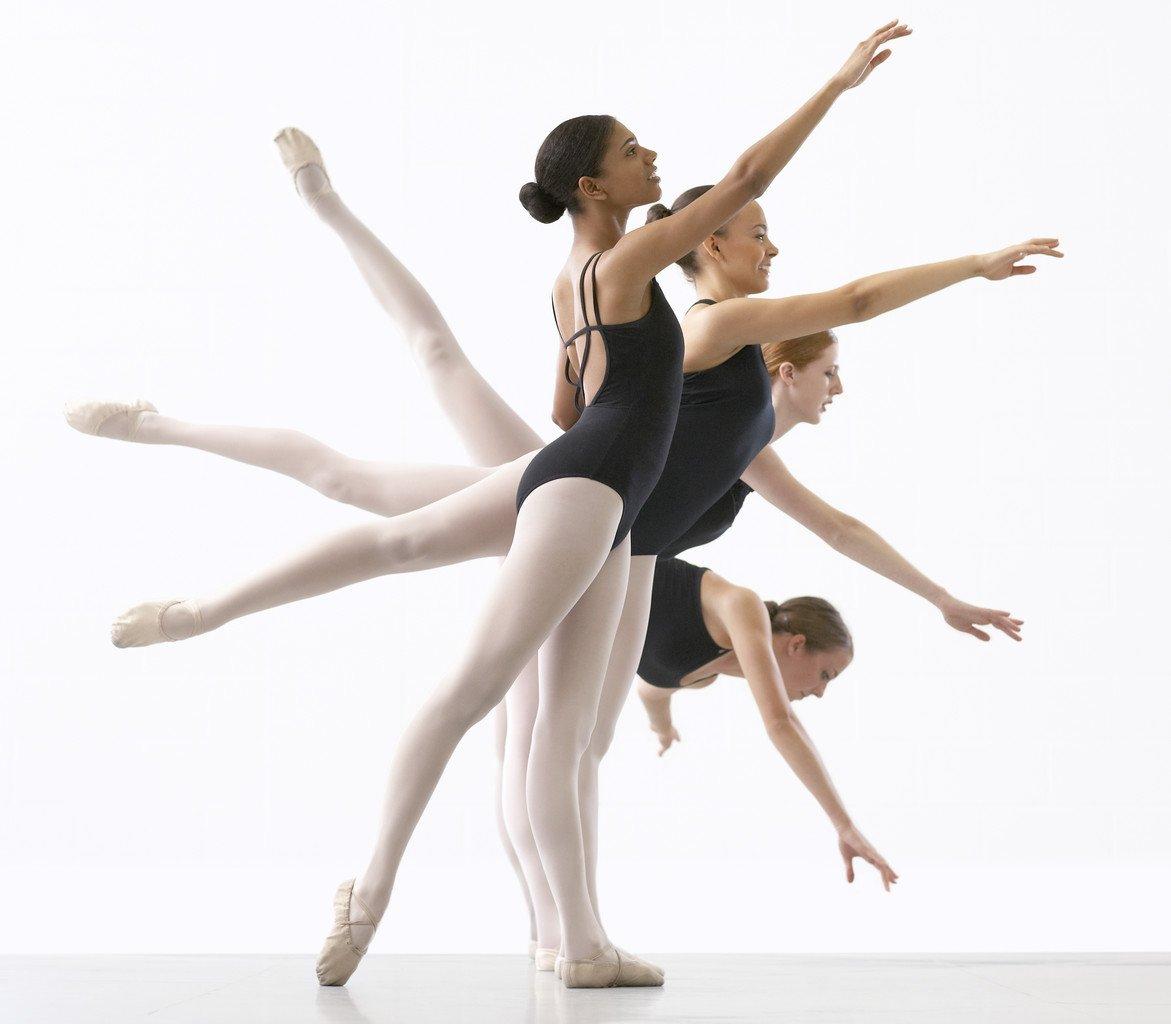 Four Ballerinas --- Image by © Royalty-Free/Corbis