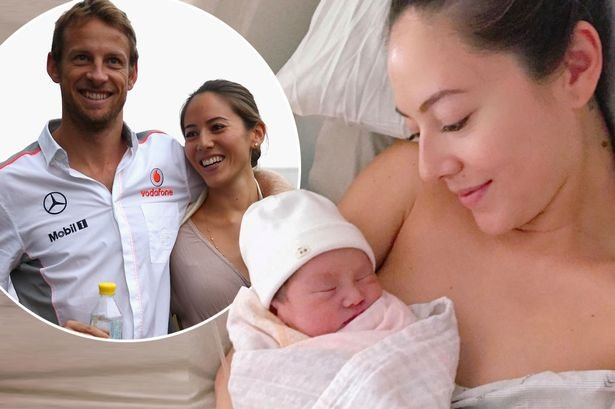 main jenson buttons ex wife jessica michibata gives birth to a daughter but remains tight lipped over ba.jpg?resize=1200,630 - 道端ジェシカ、レーサーのジェンソン・バトンとのセレブ結婚間もなく離婚