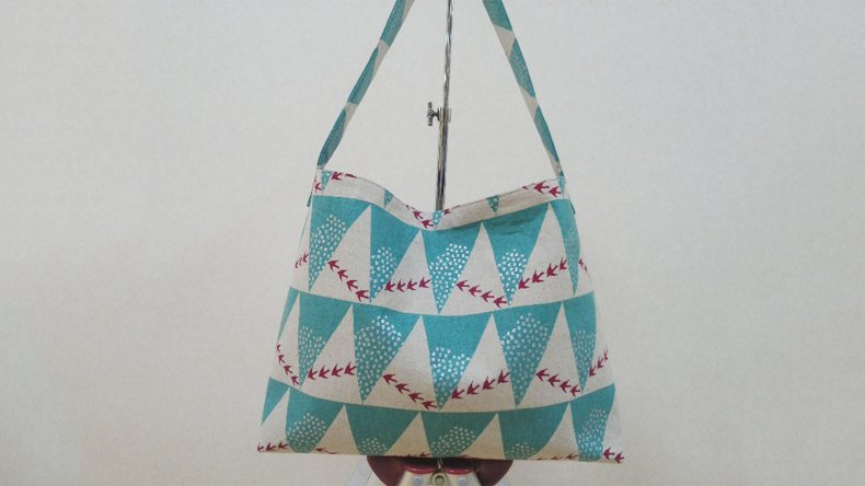 main shoulder bag 3 - 誰でも簡単にできる!ショルダーバッグを作り方のコツ