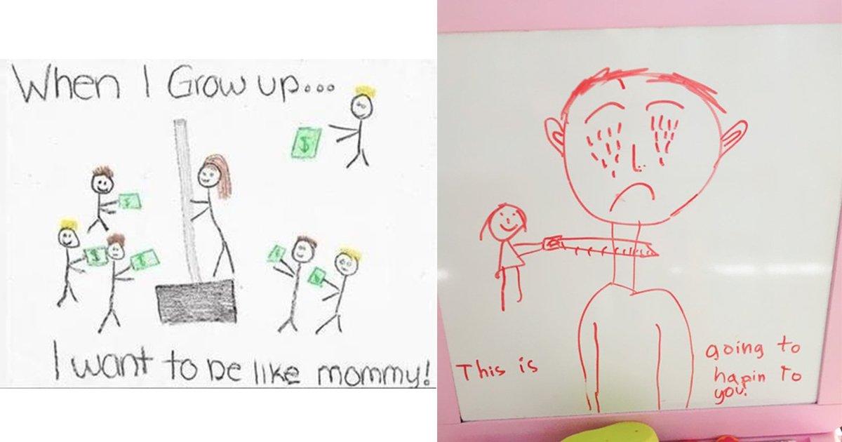 mainphoto dessin.jpeg?resize=1200,630 - 9 dessins d'enfants qui prennent un tout autre sens quand on est adulte