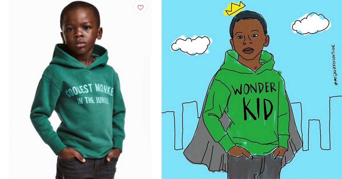 mainphoto hero - Le petit garçon de la pub H&M est le nouvel héro du web!