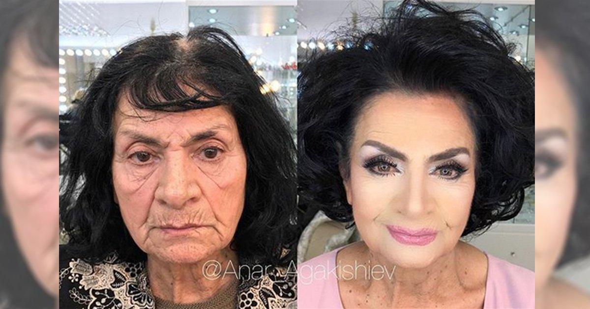 mainphoto makeup - [Photos] Il transforme ces femmes grâce au maquillage!