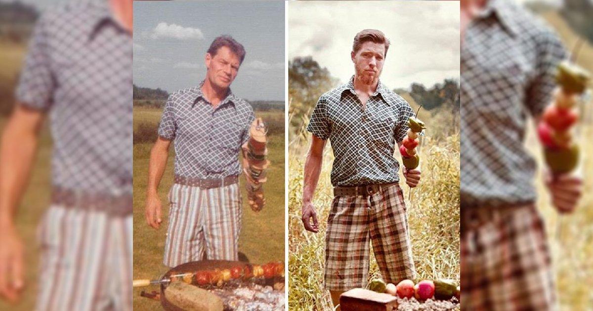 mainphoto parents.jpeg?resize=1200,630 - [Photos] Ils récréent les vieilles photos de leurs grands-parents!