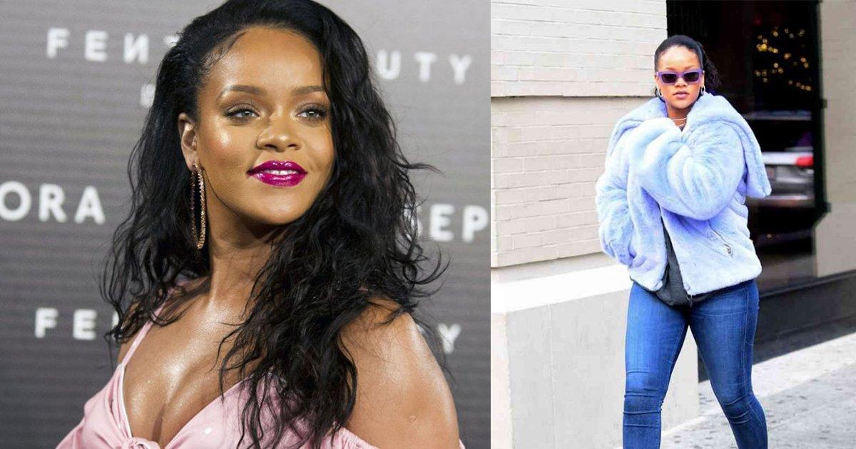 mainphoto rihanna 1 - Rihanna está arrasando em roupas justas com suas novas curvas!