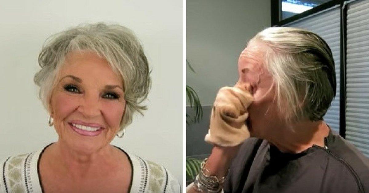 makeup.png?resize=648,365 - A sus 73 años, esta mujer se quita el maquillaje en público por primera vez en 50 años