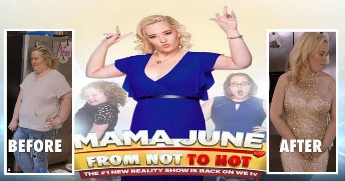mamajune3 1 - Mama June Loses Incredible Amount Of Weight And Introduces Her New Granddaughter