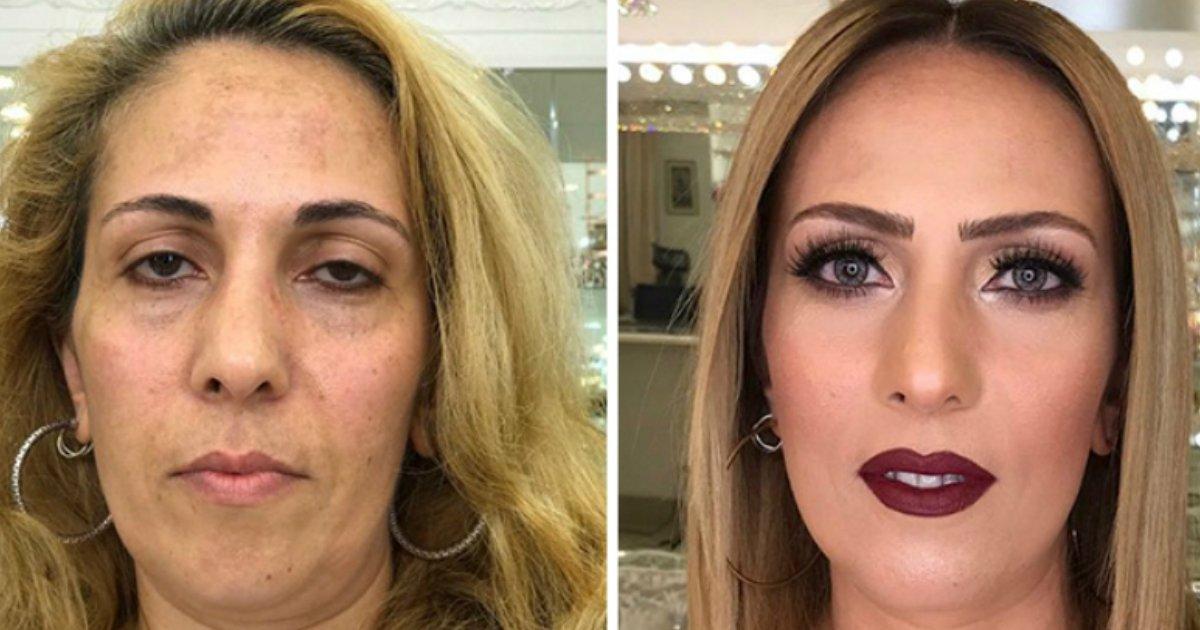 maqua - Maquiador talentoso rejuvenesce clientes com seu trabalho e prova o poder da maquiagem