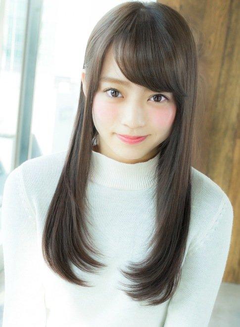 marugao osusume hair style 1b80eab5569079775221f06584f8ab96 - 丸顔でも大丈夫!小顔に見えるおすすめヘアスタイル