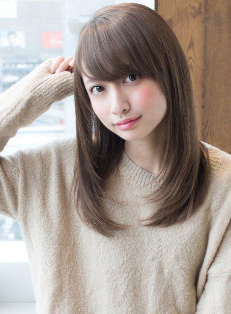 marugao osusume hair style 23052647 6583 4f11 a2eb cb2b70d1fcf8 - 丸顔でも大丈夫!小顔に見えるおすすめヘアスタイル