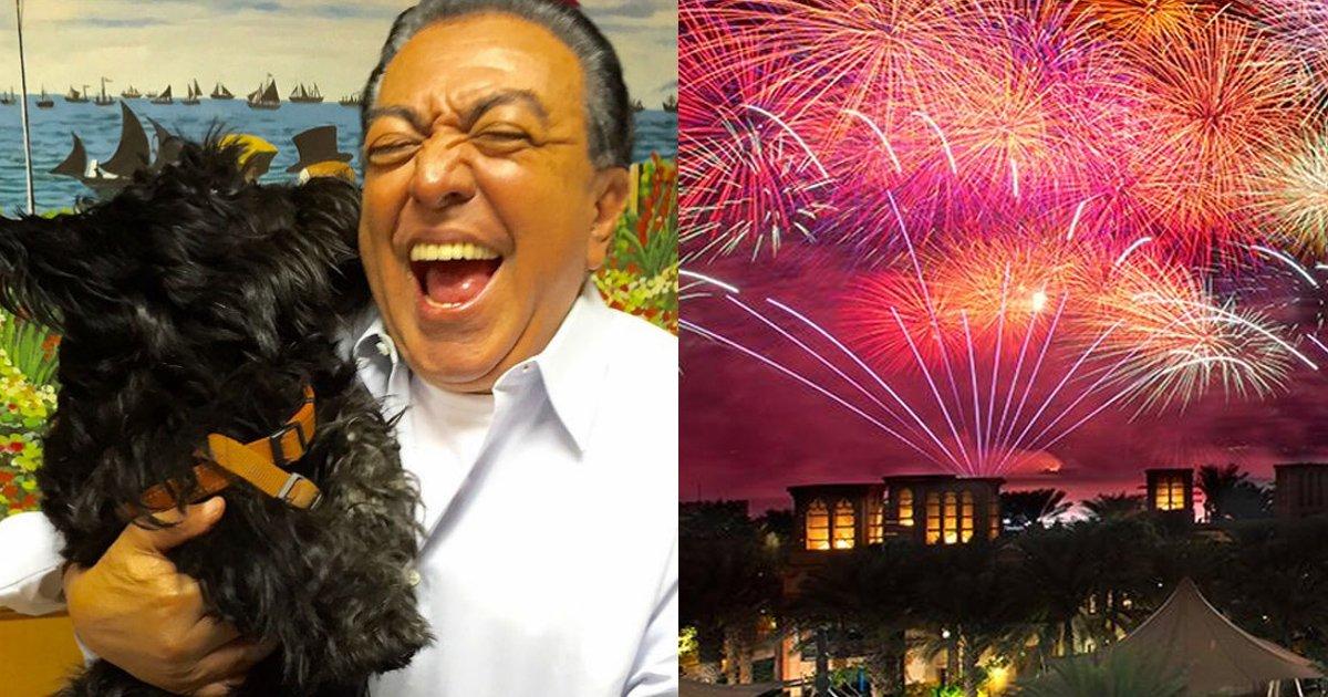 mauriciofireworks - Em respeito aos animais Mauricio de Sousa suspende queima de fogos em seu sítio durante o ano novo