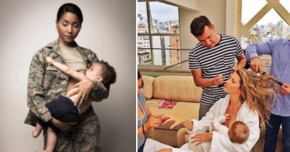 motherfin - 16 fotos inspiradoras de mães amamentando seus filhos que nos fazem refletir sobre a importância de amamentar em público